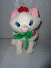 Disney Store - Holiday / Christmas  Marie - Aristocats Plush - 12""