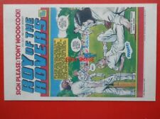 POSTCARD ROY OF THE ROVERS COMIC COVER 31 JULY 1982