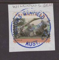 Queensland Willow's Gem 1995 postmark on piece