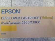 Toner Epson Aculaser Yellow Giallo Originale Nuovo New Epson c900/c1900