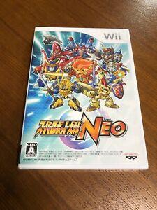 Super Robot Taisen Neo  Brand New Still Sealed Import Japan Wii Japanese Game
