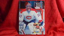 NHL Beckett Magazine Montreal Canadiens Patrick Roy April 1991