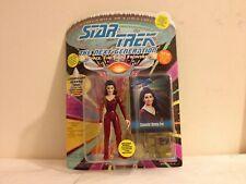 Marina Sirtis Deanna Troi Action Figure '93 Star Trek The Next Generation NEW