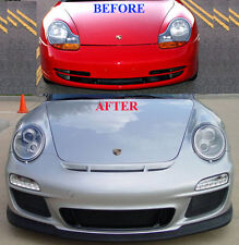 Porsche 996 to 997 Front Face-Lift Update in STEEL METAL (Best Fit & Finish)