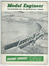 Model Engineer January 1956 Vol.114 No.2852 Percival Marshall & Co Ltd Good