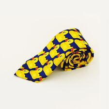 US Yellow Rubber Duck Tie HIMYM How I Met Your Mother Barney's Ducky Cosplay Tie