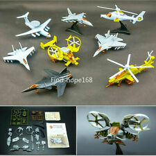 1:165 Scale 4D Assembled Fighter Helicopter Model Puzzle Building Figure Action