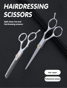 6.0 Inch Professional Hairdressing Scissors Hairdressing Professional 2pcs OLOEY