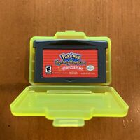 Pokemon Mystery Dungeon: Red Rescue Team (Nintendo Game Boy Advance) With Case!