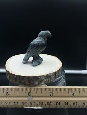 Zuni fetish/Ricolite Eagle Holding Fish/Herb Him jr.Zuni Carving # 137