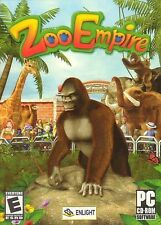 ZOO EMPIRE - Animal Tycoon Type Simulation PC Game for Windows - SEALED BOX! SIM