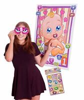 Dummy on the Baby Game - Baby Shower Party Mum to Be PIN Stick 12 Dummies