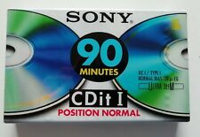 Vintage Audio Cassette Sony Chrome Cditii 60 CD It I 90 Normal(k7)