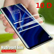 For Huawei P30 P20 Pro Lite Honor 20 Pro 10D Hydrogel Full Screen Protector Film