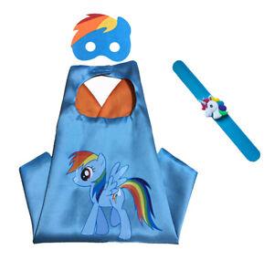 Superhero Cape and Bracelet Set, My Little Pony Costumes, MPL Costume Set