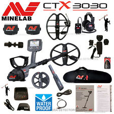 NEW MINELAB CTX 3030 PREMIUM BUNDLE With 3 COILS, PROFIND 25, CARRYBAG & MORE !