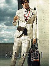 PUBLICITE ADVERTISING 094  2008  GUCCI   haute couture homme 2