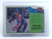 1983-1984 Wayne Gretzky #216 Edmonton Oilers OPC O-Pee-Chee Hockey Card H707