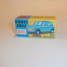 Corgi Toys  226 Morris Mini Minor empty Repro Box