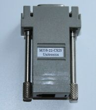 5X adaptateur UNITRONICS MJ10-22-CS25 ADAPTER D-TYPE RS232 COM interface hmi plc