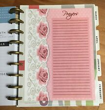Prayers Two-Sided Dashboard for use with Happy Planner *Create 365*