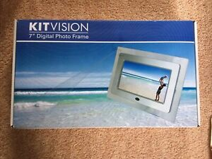 7in Digital Photo Frame Kit Vision