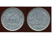 POLOGNE  1 zloty  1987