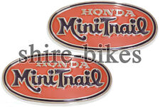 Honda Oval Mini Trail Tank Badges (Pair) suitable for use with Z50A