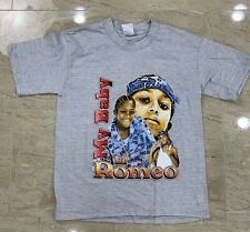 Vintage Lil Romeo Shirt Sz S Rap Hip Hop 90s 2000s No Limit Master P My Baby
