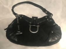 Black DKNY shoulder bag; barely used