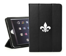 For Apple iPad 2 3 4 Air Mini Pro Leather Smart Case Cover Stand Fleur De Lis