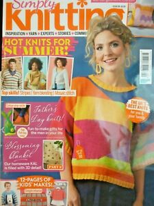 SIMPLY KNITTING MAGAZINE ISSUE 199