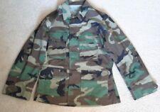 Woodland Camouflage Military BDU Jacket Shirt Top Blouse (SC-2)