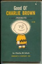 Good Ol' Charlie Brown 1957-Charles Schulz art-reprints Peanuts daily strips-VG