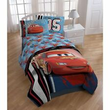 3pc Disney Lighting McQueen Twin Bed Sheet Set Race Car Number 95 Bedding
