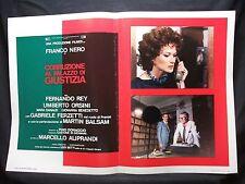 FOTOBUSTA CINEMA - CORRUZIONE AL PALAZZO DI GIUSTIZIA - FRANCO NERO - 1975 - 09