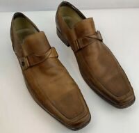 Lounge by Mark Nason Men's Loafers Leather Brown Slip On Shoes Sz 15