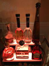 16 Led Bar Shelf Two Step Liquor Bottle Shelves Bottle Display Shelving Rack