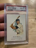 MICKEY MANTLE PSA 10 Topps Allen Ginter #275 GEM MINT New York Yankees Babe Ruth