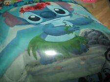 Cute New Disney Lilo And Stitch Hawaiian Hula comforter Full / Queen Comforter