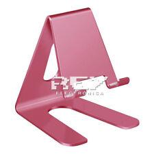 Soporte Mesa Aluminio para Móvil Tablet Base Teléfono Atril  Universal ROSA d308