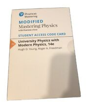 Mastering Physics Student Access Code Card, ISBN 0-13-397940-7