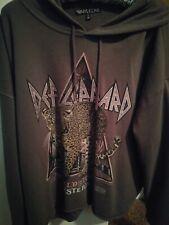 Torrid vinylcon hoodie 2x Def Leppard