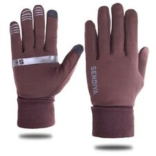 Men's Warm Knit Roll UP Cuff with Fleece Lining Gloves Touchscreen Winter Glove