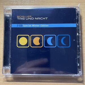 Schiller 2 CD  **TAG UND NACHT** *Special Winter Edition*, Neuwertig, selten
