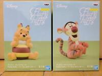 Disney Characters Fluffy Puffy Winnie the Pooh Tigger figure set of 2 Banpresto