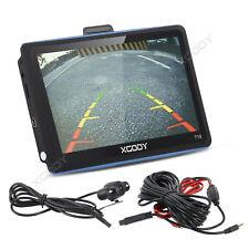 XGODY 7'' 8GB GPS Navegador Bluetooth Táctil ES Eu Mapa + Cámara de marcha atrás