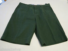 Men's Tommy Hilfiger 32 Classic Fit shorts 311 Sycamore 7864810 dk grn casual TH