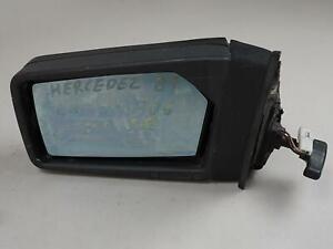 1986 - 1991 MERCEDES BENZ E CLASS W126 MIRROR SIDE VIEW MANUAL LEFT LH OEM