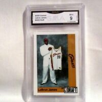 ACEO Custom Lebron James #NNO Draft GMA Mint 9